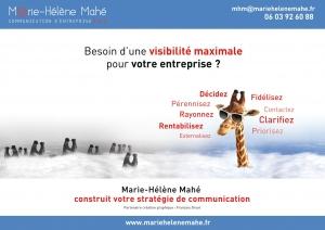 Conseil en communication stratégie et visibilité des TPE PME en BtoB